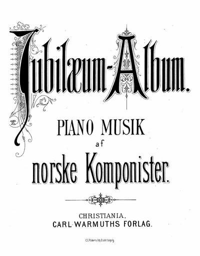 Jubilaeum-Album piano musik