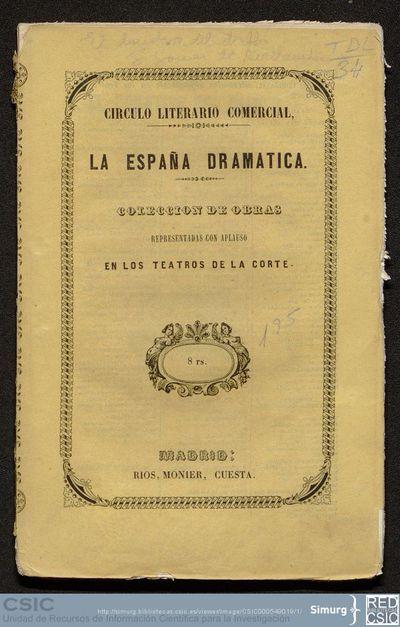 La España dramática; El donativo del diablo