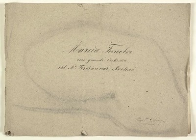 Marcia funebre.; orch.; Sib.