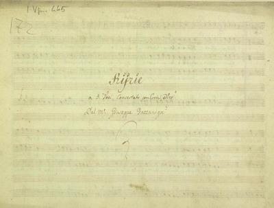 Kyrie.; 3V (TTB), coro 3V (TTB), 2 cor, bc.; Do.