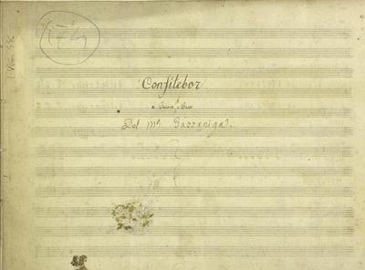 Confitebor.; Salmo 110.; 2V (TB), orch, bc.; Sol.