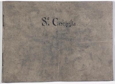 Il martirio di S. Cecilia.; Oratorio.
