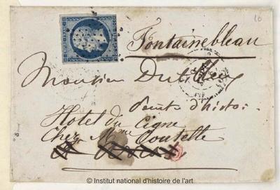 Lettres d'Eugène Delacroix à Constant Dutilleux