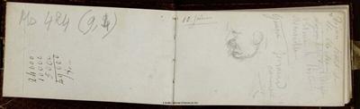 Carnet de compte concernant la Maison de Poissy (1862-1870)