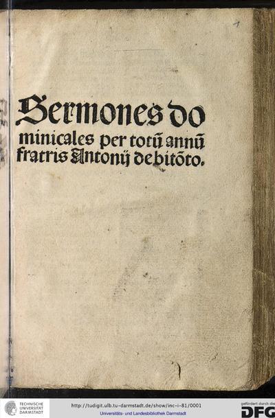 Sermones dominicales per totum annum