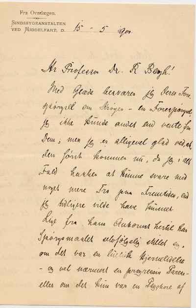 [Letter] 1900-05-15, Middelfart