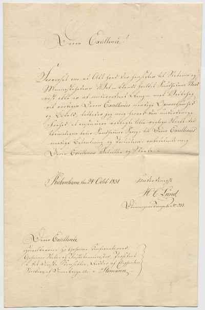 [Letter] 1831-10-24, København