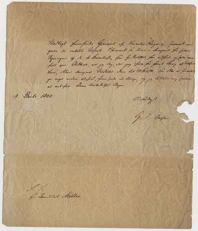 [Letter] 1840-12-04, s.l.