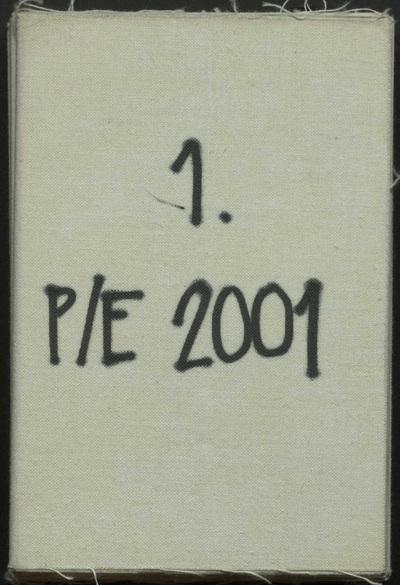 P/E 2001 Bedr. Cat. : Maison Martin Margiela : Collectie L/Z 2001 :Maison Martin Margiela