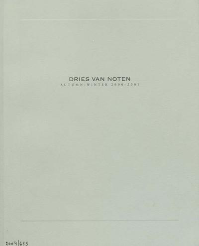Dries Van Noten Bedr. Cat. : Dries Van Noten : Collectie H/W 2000 - 2001 :Autumn-winter 2000-2001