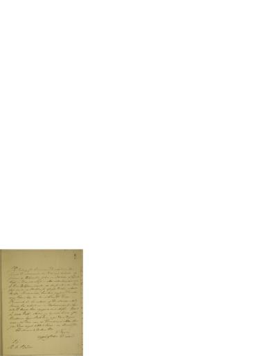 Brev, 1830 03.21, Christiania, til Ole Bull, Christiania