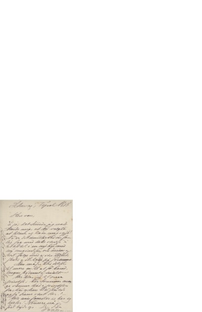 Brev, 1875 , Schwaz, Tyrol, til Edvard Grieg