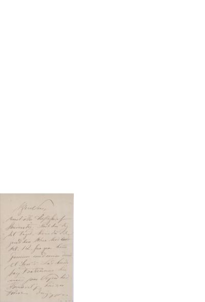 Brev,[ca.1899] 03.18, til Edvard Grieg