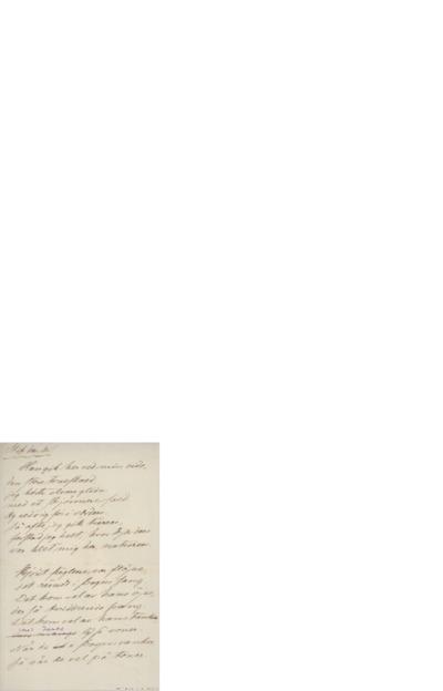 Stik den, du; Brev,[ca.1899] 03.18, til Edvard Grieg