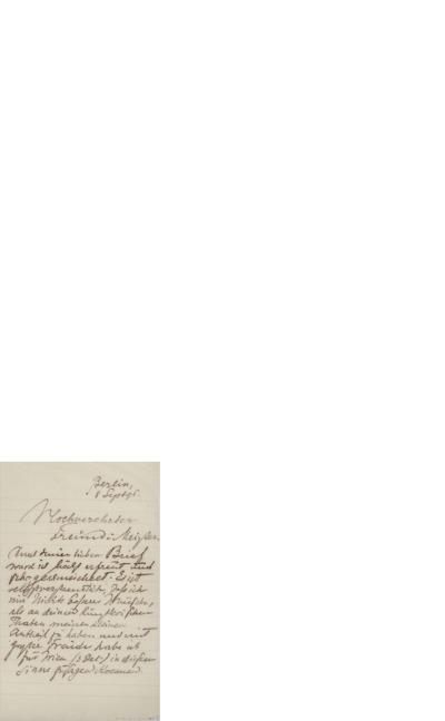 Brev, 1896 09.08, Berlin, til Edvard Grieg