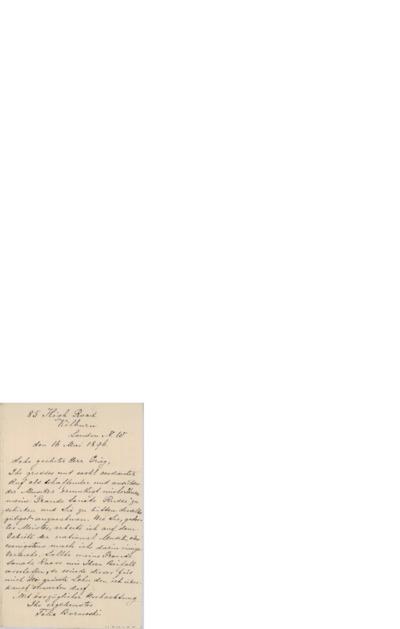 Brev, 1896, 05.16, London, til Edvard Grieg