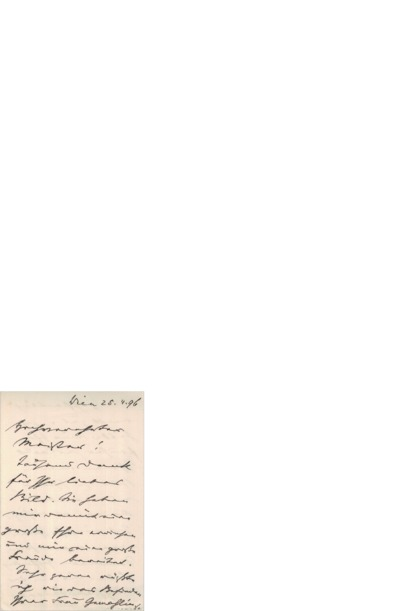 Brev, 1896 04.25, Wien, til Edvard Grieg