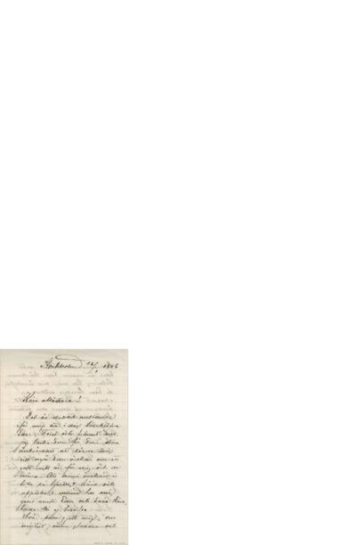 Brev, 1906 01.26, Stockholm, Edvard Grieg