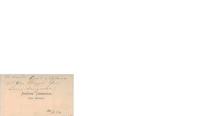 Brev, 1887 01.12, Edvard Grieg