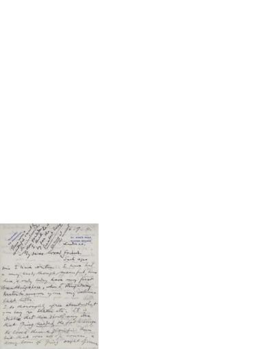 Brev, 1911 07.06, London, til Nina Grieg