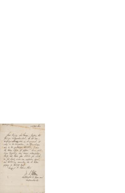 Anbefalinger, ordener, diplomer etc., 1862 02.02, Leipzig, til Edvard Grieg