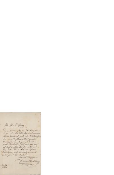 Brev, 1873 01.11, til Edvard Grieg