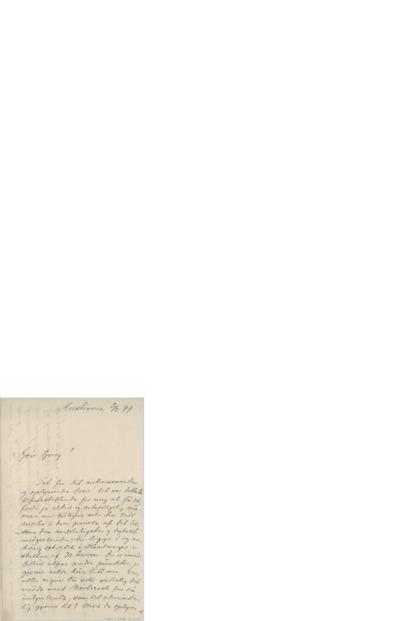 Brev, 1897 02.03, Kristiania, Edvard Grieg