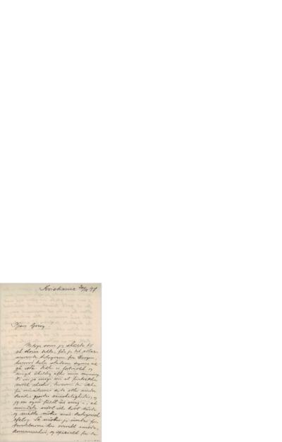 Brev, 1897 12.30, Kristiania, Edvard Grieg