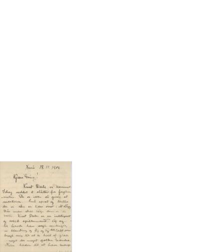 Brev, 1901 11.17, Kristiania, til Edvard Grieg