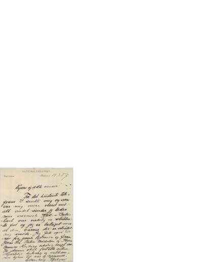 Brev, 1907 03.29, Kristiania, til Edvard Grieg