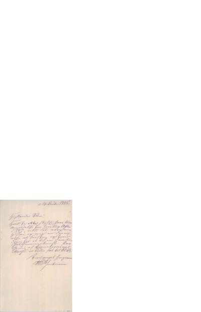 Brev, 1885 12.26, Edvard Grieg