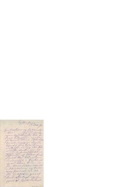 Brev, 1893 02.14, København, Edvard Grieg
