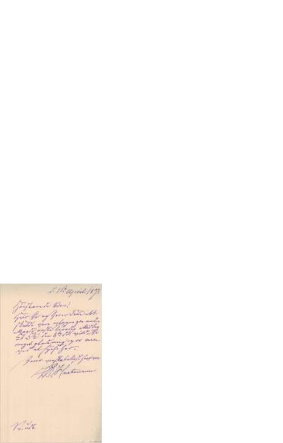 Brev, 1897 04.01, Edvard Grieg