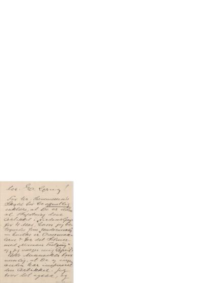 Brev, 1900 06.16, Edvard Grieg