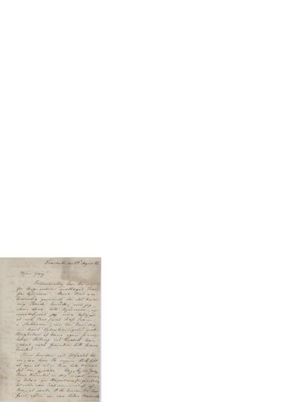 Brev, 1866 08.24, Frascati, til Edvard Grieg
