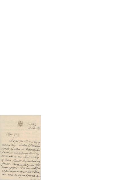 Brev, 1900 02.10, Bestum, til Edvard Grieg
