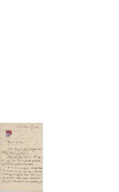 Brev, 1904 06.29, Bestum, til Edvard Grieg