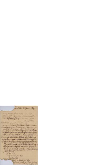 Brev, 1904 09.04, Bestum, til Edvard Grieg