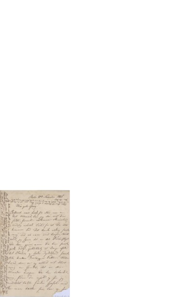 Brev, 1865 11.30, Berlin, Edvard Grieg