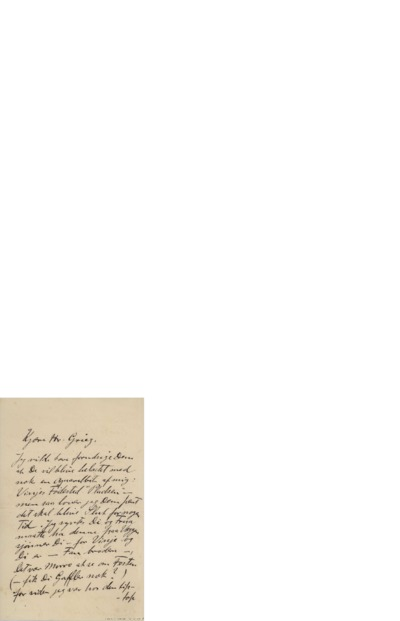 Brev, 1892 06.14, Sandviken, til Edvard Grieg