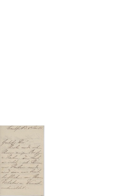 Brev, 1880 01.04, Frankfurt, til Edvard Grieg