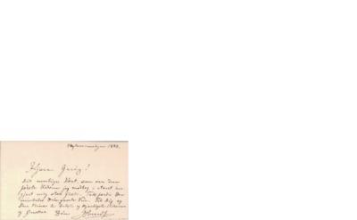 Brev, 1888 01.01, København, til Edvard Grieg