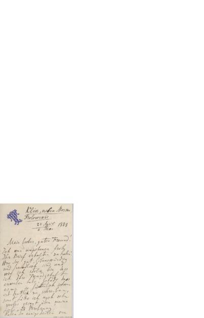 Brev, 1888 04.26 / 05.06, Klin ved Moskva, til Edvard Grieg