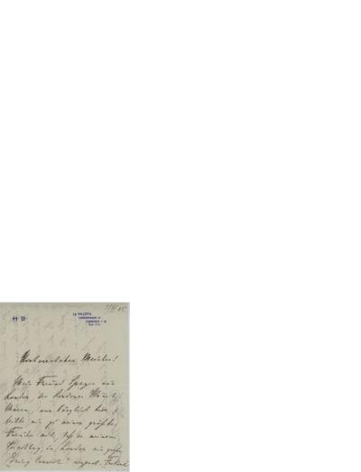 Brev, 1905 06.03 , Frankfurt til Edvard Grieg