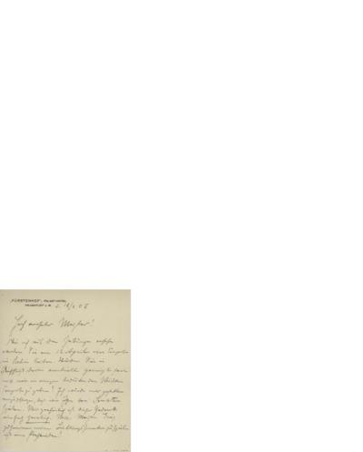 Brev 1907 02.18, Franfurt a.M. til Edvard grieg