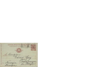 Brev 1904 09.01, Vendig, til Edvard Grieg