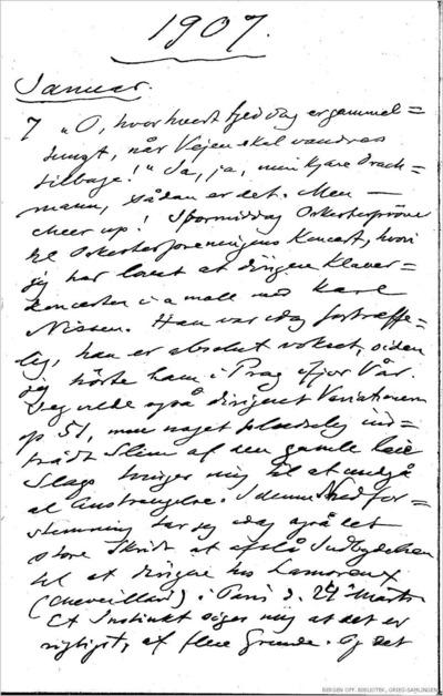Dagbok 1907 01.07 - 08.31