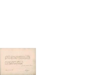 """Aus """"Belsazar""""; Hilsen til Edvard Grieg, 1862 04.11, Leipzig"""