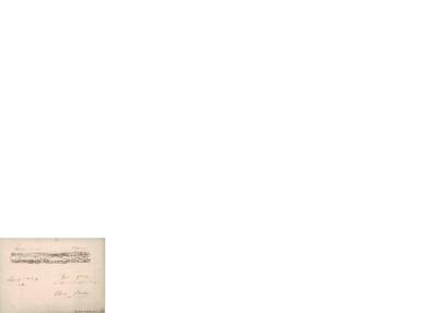 Mendelssohn op. 35; Hilsen til Edvard Grieg, 1860 06.13, Leipzig
