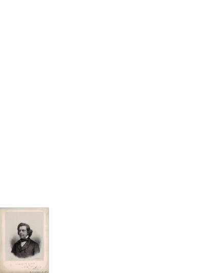 Niels W. Gade [tegning] ; [note]; Hilsen til Edvard Grieg, 1864 05.09, København